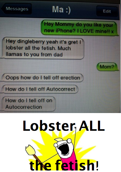 LOBSTER - AUTOCORRECT