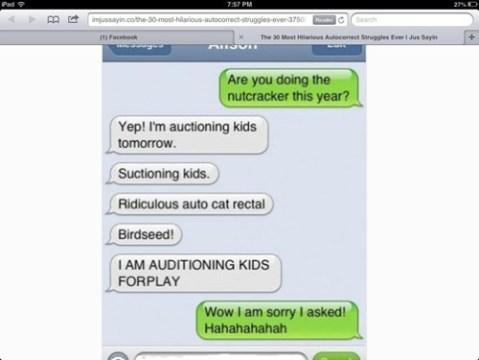 kids autocorrect